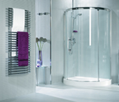Roman Curved Glass Shower