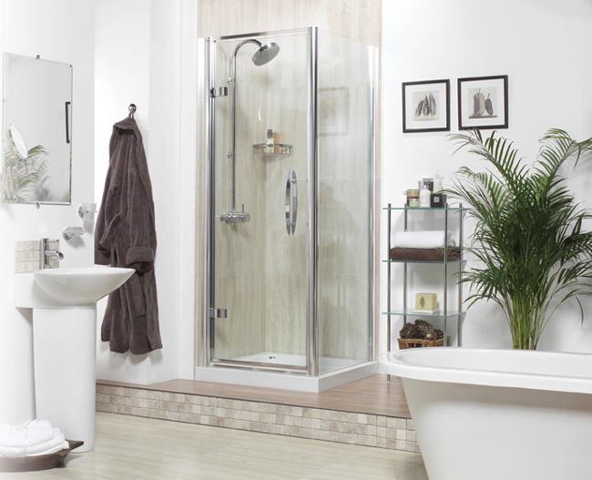 Roman Outward opening Shower